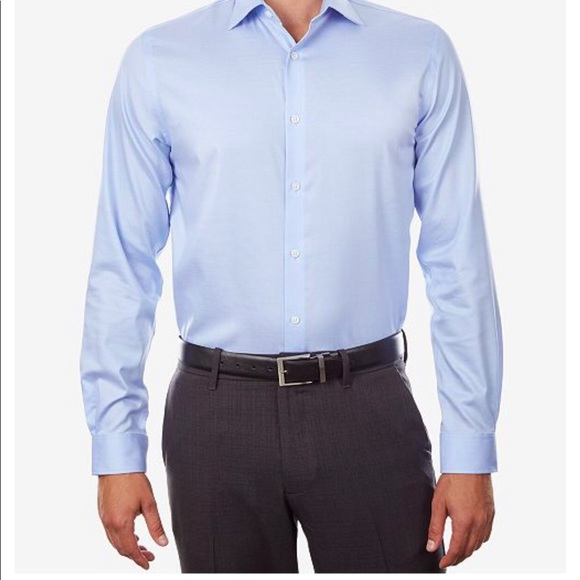 later strong packing provide large selection of MIchael Kors Men's Airsoft Stretch Dress Shirt NWT